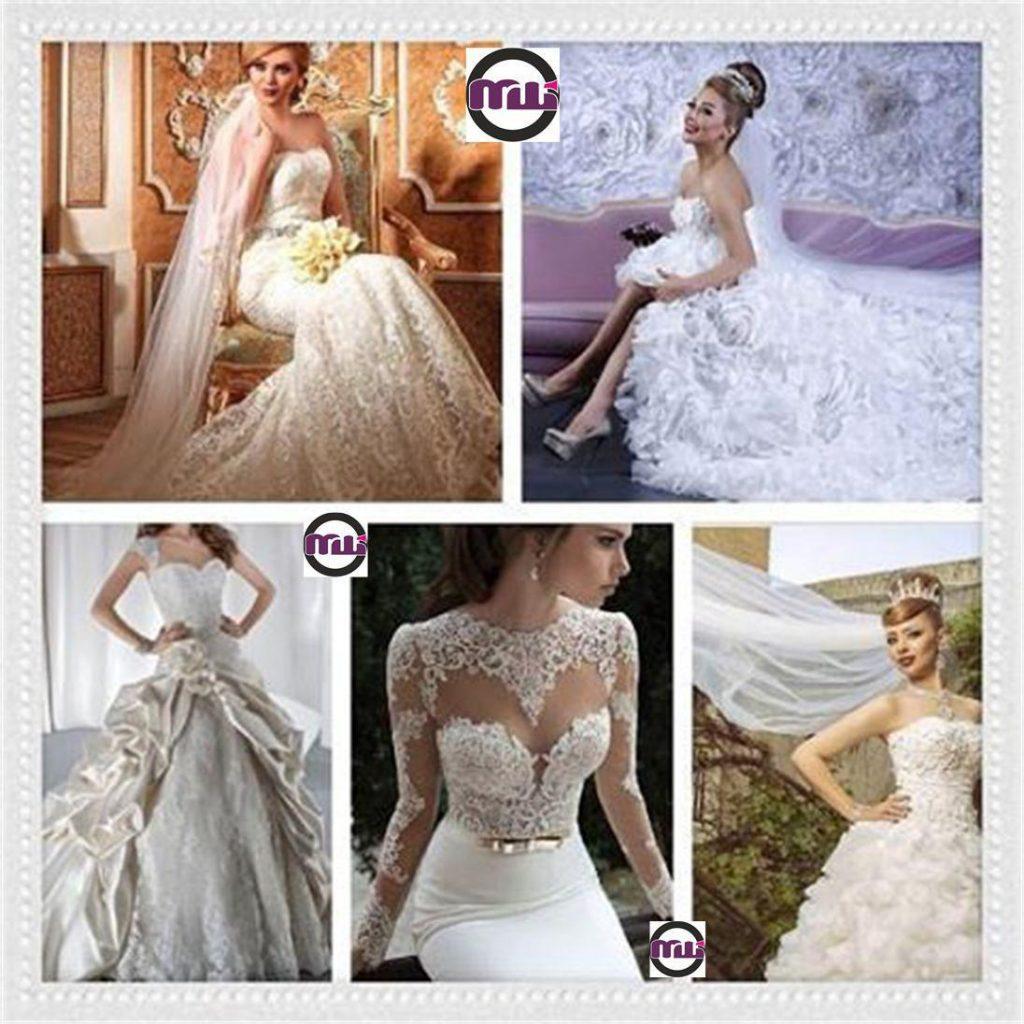 مزون و طراحی و دوخت لباس عروس درسا دیاموند