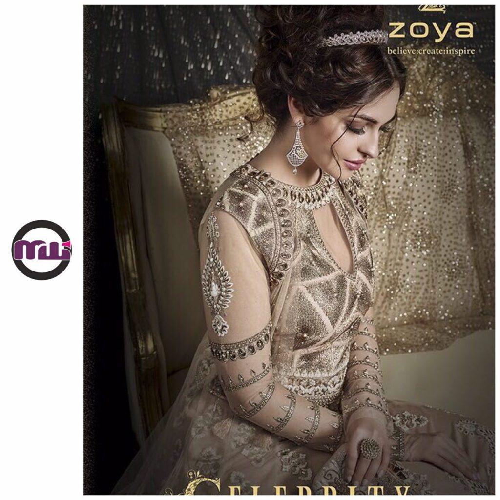 فروش ۶ مدل بسیار زیبای لباس مجلسی هندی از برند جهانی زویا