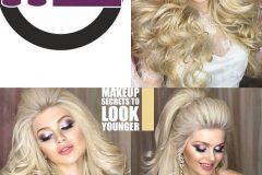 مدل مو مجلسی 5 و مدل آرایش صورت - mashhadwomen